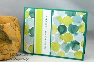 Liz Bailey Stampin' Up! Demonstrator - Naturally Eclectic DSP - Vertical Greetings