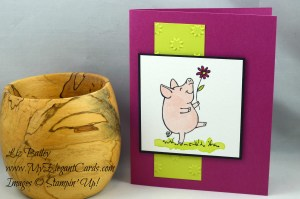 Liz Bailey Stampin' Up! Demonstrator - This Little Piggy - Oh My Stars