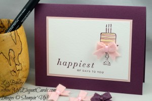Liz Bailey Stampin' Up! Demonstrator - Happiest of Days