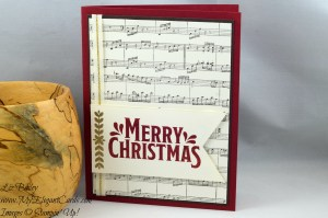 Liz Bailey Stampin' Up! Demonstrator - Merry Mistletoe - Sheet Music