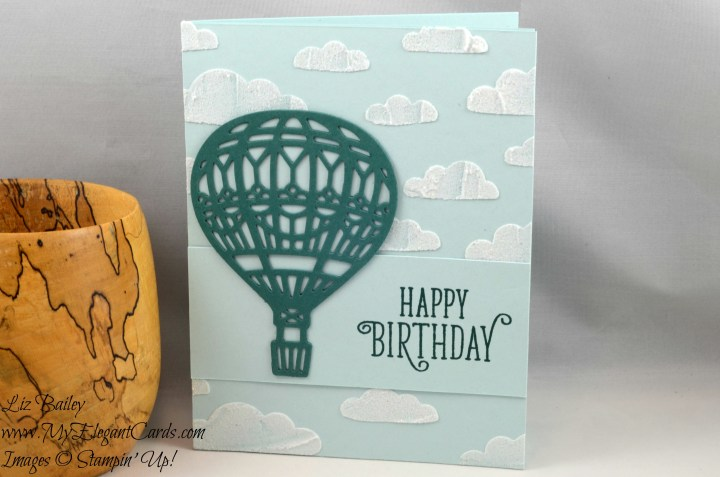 Liz Bailey Stampin' Up! Demonstrator - Up and Away Thinlits Dies Happy Birthday Gorgeous