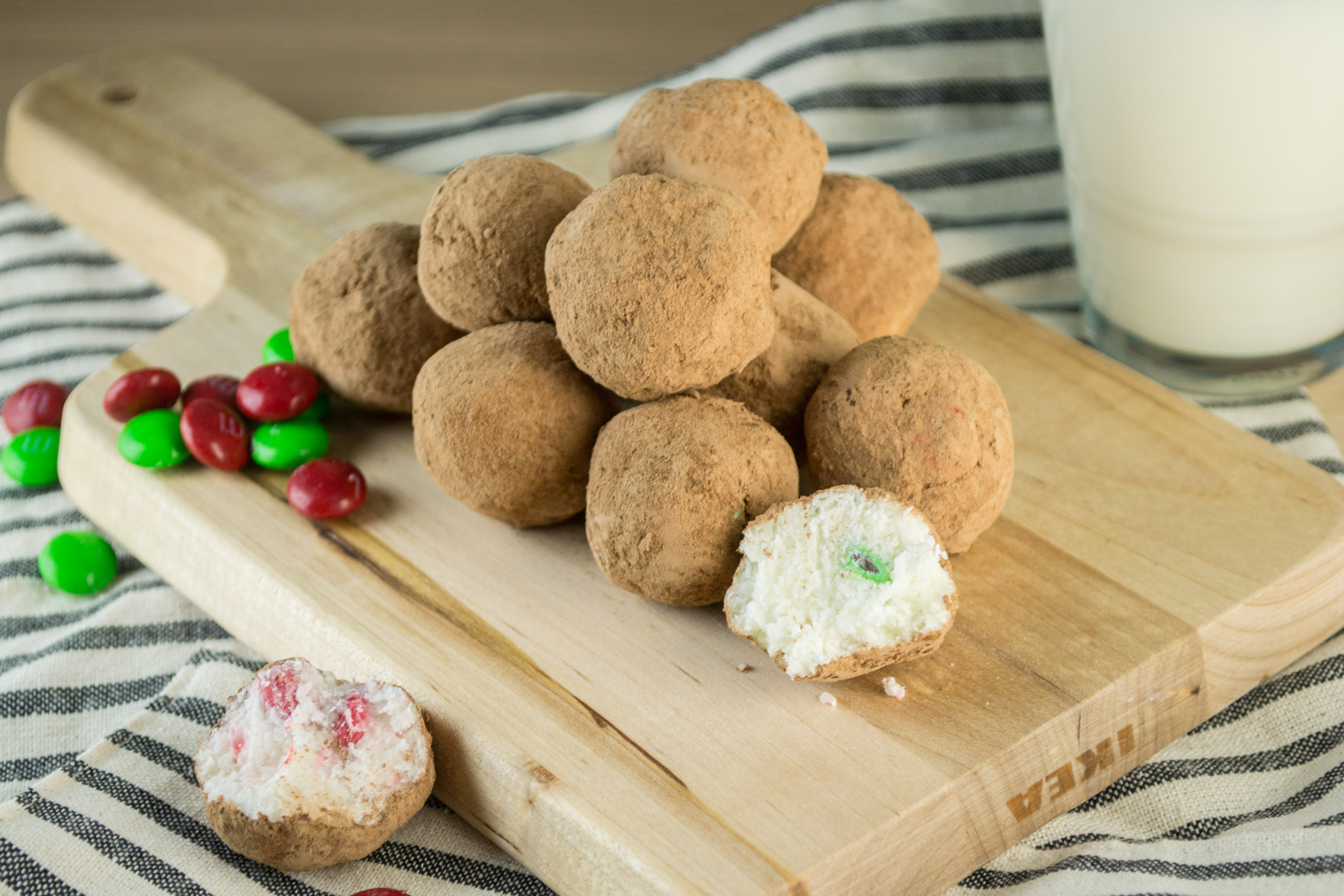 M&M Coconut Balls