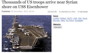 The USS Eisenhower