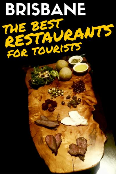 BRISBANE - Restaurants for tourists