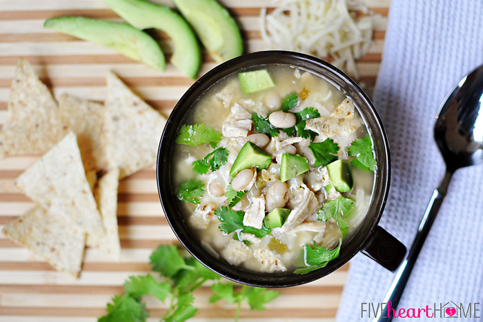 White Chicken & Bean Chili