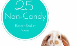 25 Non-Candy Easter Basket Ideas