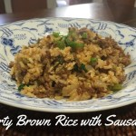 Recipe: Dirty Brown Rice with Sausage