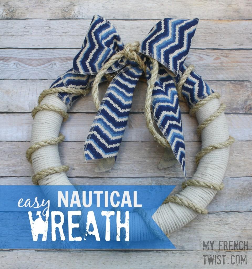 easy nautical wreath