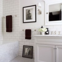 white brick wallpaper for bathrooms