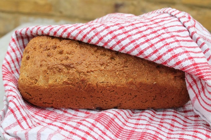 Easy Brown Bread Recipe