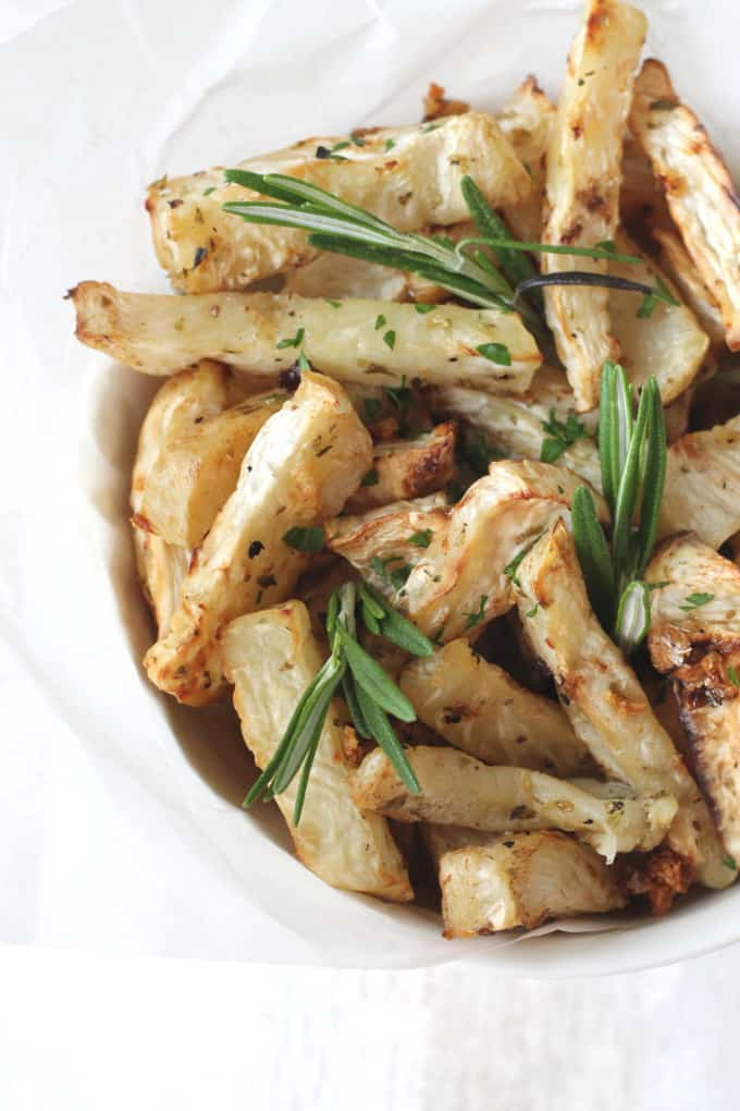 celeriac garlic fries