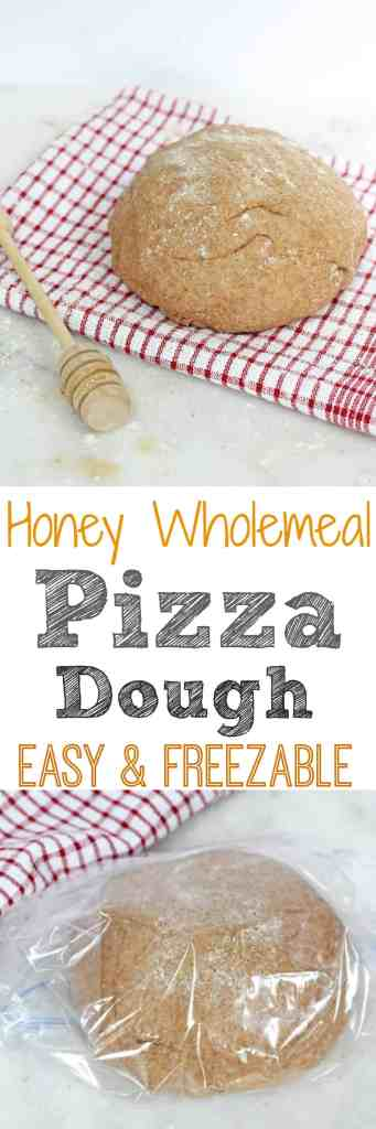 Easy & Freezable Honey Wholemeal Pizza Dough Recipe   My Fussy Eater Blog