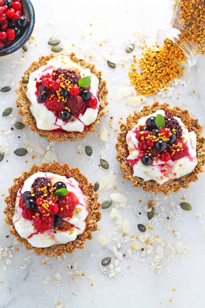 Liven up breakfast time with this recipe for Granola Crust Tart with ...