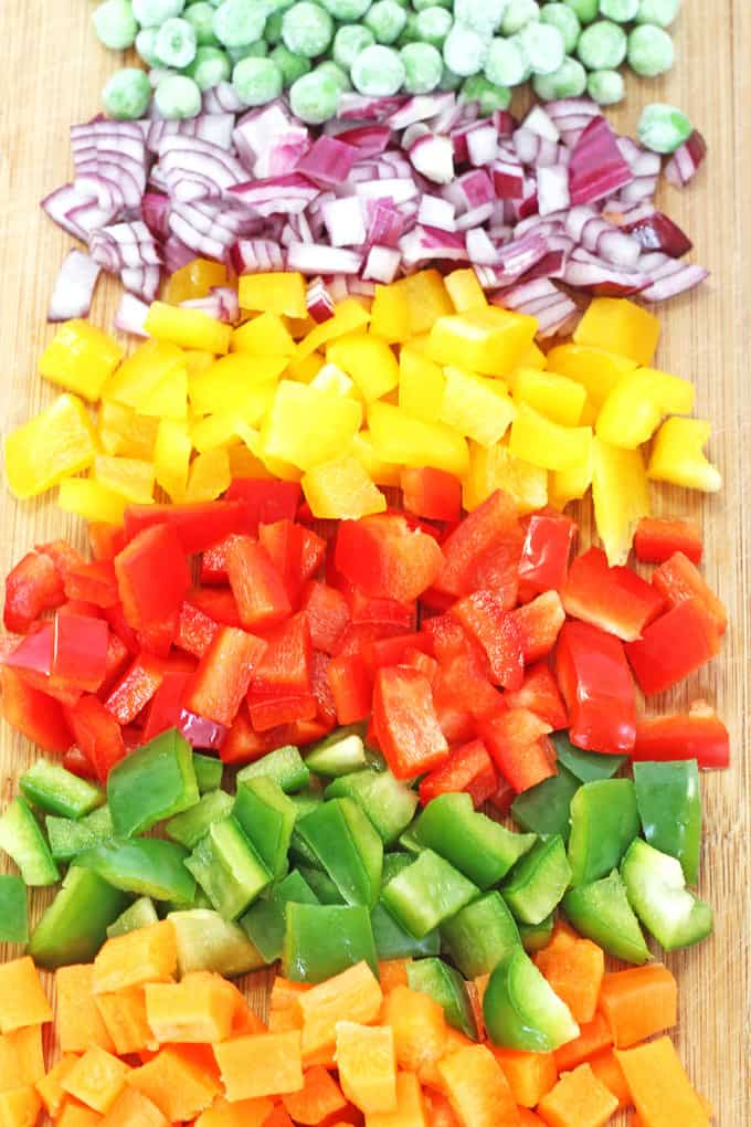 Easy 20 Minute Rainbow Veggie Risotto for Kids | My Fussy Eater Blog
