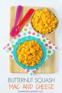 Butternut Squash Mac and Cheese - My Fussy Eater