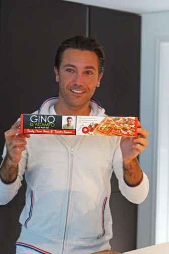 Gino d'Acampo Bake Me With Pizza Bases