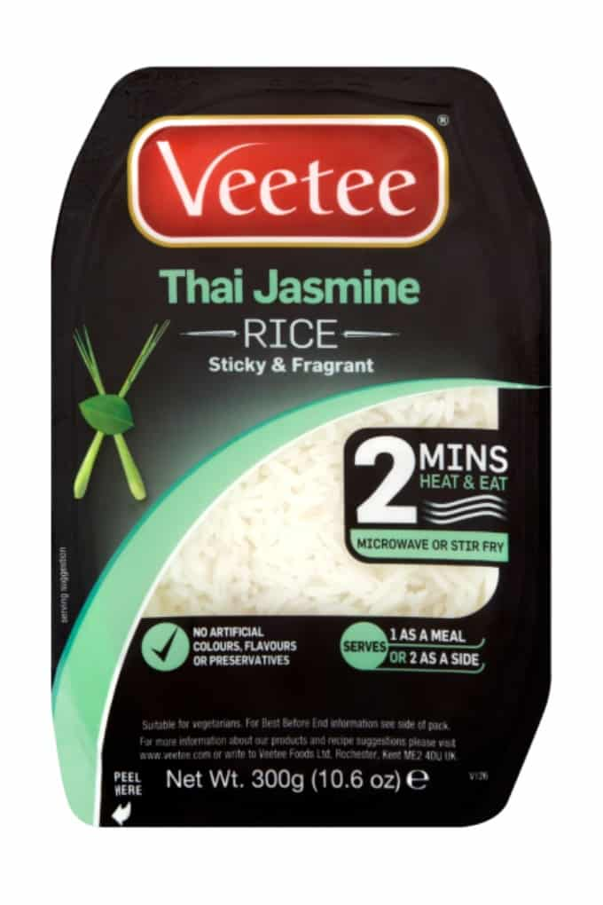 Next time you're tempted to reach for the takeaway menu, try this delicious and speedy Prawn Thai Fried Rice made with Veetee rice