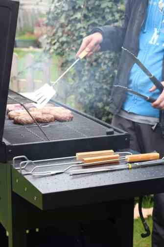 Enjoy an off season bbq with friends and family with George at Asda
