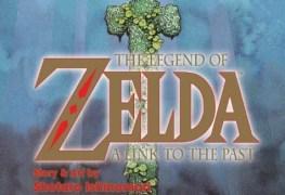 Zelda Comic Novel - Cover