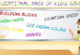 Educational Pack of KidsGames Banner