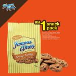 Famous Amos Offer RM1 Crazy Deals!