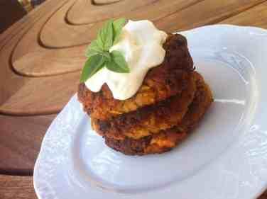 ... Greek Kolokithokeftedes (Fried Zucchini/Courgette Balls) Recipe