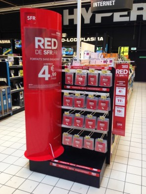 RED en grande distribution