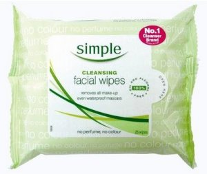 Simple - Cleansing Facial Wipes