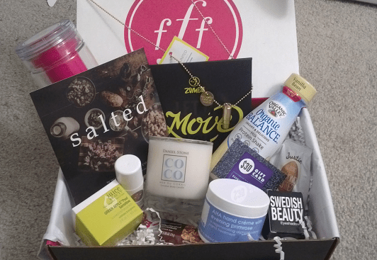 FabFitFun Winter 2014 Subscription Box