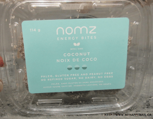Nomz Energy Bites in Coconut