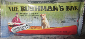 The Bushmans Bar Wild Rice Berry Bar