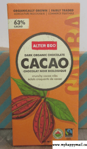 Alter Ego - Dark Organic Chocolate