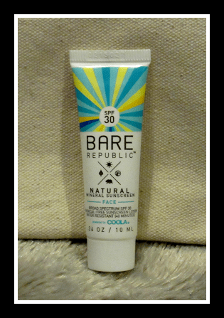 Bare Republic Naturals SPF 30 Mineral Face Sunscreen Lotion