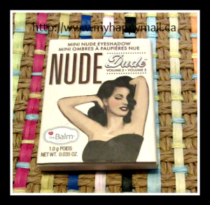 theBalm Cosmetics Nude Dude Eyeshadow Single