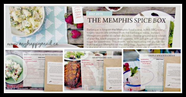 Raw Spice Bar July The Memphis Spice Box