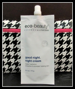 Eco Beauty Good Night Cream Ipsy August 2015 Glambag Subscription Box Review