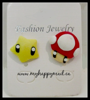 Fandom of the Month Club Subscription Box Review Earrings Super Mario Brothers Nintendo