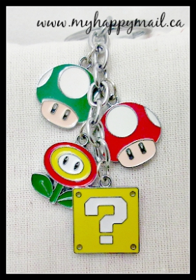 Fandom of the Month Club Subscription Box Review Super Mario Power Up Keychain