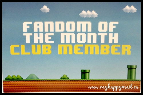 Fandom of the Month Club Subscription Box Review Super Mario Brothers Nintendo August 2015