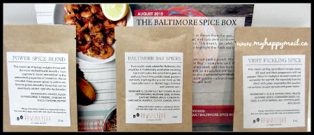 Raw Spice Bar Subscription Box The Baltimore Spice Box Spices