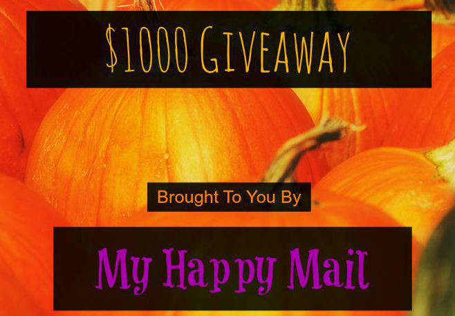 Trick Or Treat My Happy Mail Worldwide Halloween Giveaway