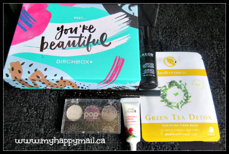 Birchbox September 2015 Review Full Box