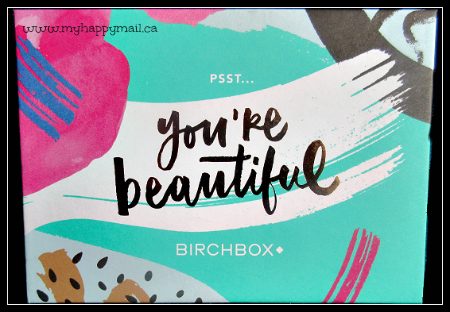 Birchbox September 2015 Review - Birchbox Canada