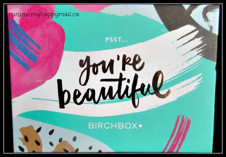 Birchbox September 2015 Review - Birchbox Canada