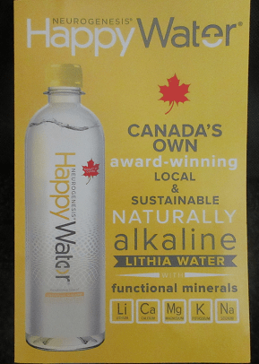 Happy Water Review Natural Alkaline Water Review #trynatural Spout