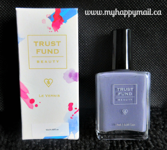 Ipsy Review September 2015 GlamBag Trust Fund Nail Polish in Elegantly Wasted