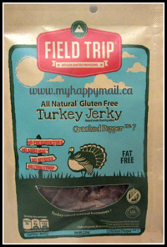Jerky Snob Review Artisan Jerky Subscription Box Review Field Trip Turkey Jerky Cracked Pepper
