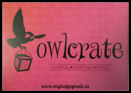 Owlcrate Review September 2015 Leading Ladies Book Subscription Box