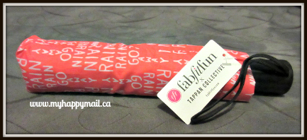 FabFitFun VIP ReviewFall Box - Subscription Box Tappan Collective Umbrella