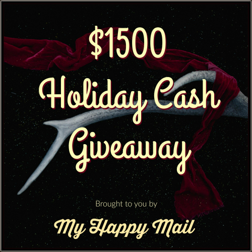 Holiday Cash Giveaway My Happy Mail